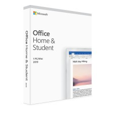 Microsoft Office Home and Student 2019 EuroZone 1 License Medialess Svensk